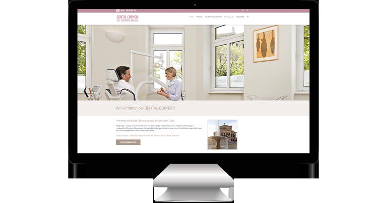 Zahnarztpraxis Frankfurt - neue Website