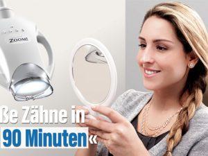 Lichtaktivierte Zahnaufhellung mit ZOOM!-Bleaching
